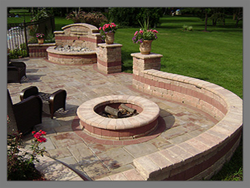 unilock patio designs patios arrowhead brick pavers inc arrowhead brick pavers inc - Brick Patio Designs