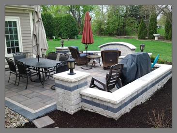 arrowhead brick pavers inc - Unilock Patio Designs